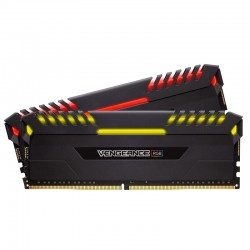 DDR4 2666 CORSAIR 16GB (2x8GB) Vengeance RGB CL16