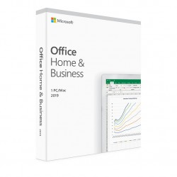 Microsoft Office Home & Business 2019 PT Medialess