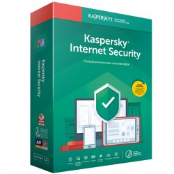 KASPERSKY Internet Security 2020 Retail Renovação 3DISP/1ANO