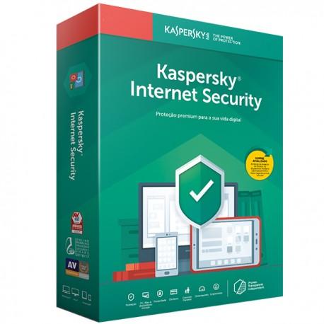 KASPERSKY Internet Security 2020 Retail Renovação 3DISP/1ANO