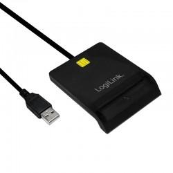 LOGILINK Leitor de Cartões Smart ID USB 2.0 - Cartão Cidadão