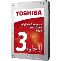 """TOSHIBA 3TB P300 3.5"""" SATA3 7200rpm 64MB cache"""