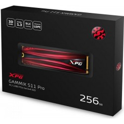 ADATA 256GB M.2 2280 SSD GAMMIX S11 PRO PCIe Gen3x4