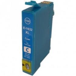 Tinteiro Compatível EPSON 16XL Ciano T1632