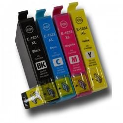 Pack 4 Tinteiros Compatíveis EPSON 16XL