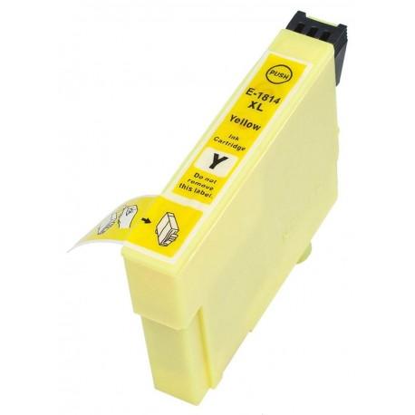 Tinteiro Compatível EPSON 18XL Amarelo T1814