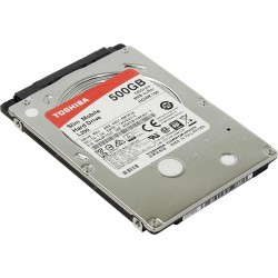 "TOSHIBA 500GB L200 7mm 2.5"" SATA3 5400rpm 8MB cache"