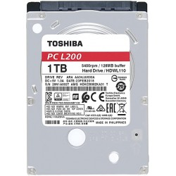 "TOSHIBA 1TB L200 7mm 2.5"" SATA3 5400rpm 128MB cache"