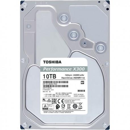 "TOSHIBA 10TB X300 3.5"" SATA3 7200rpm 256MB cache"