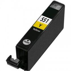 Tinteiro Compatível CANON CLI-551XL Y Amarelo