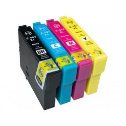 Pack 4 Tinteiros Compatíveis EPSON 502XL