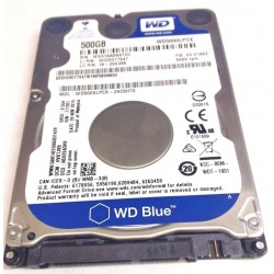 "WD Blue 500GB 2.5"" SATA3 5400rpm 16MB cache"