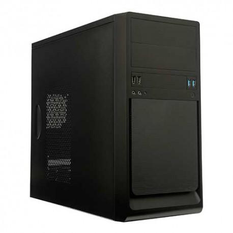 Caixa UNYKA UK-6023 Micro ATX c/fonte 300W 85% USB 3.0