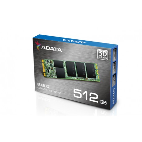 ADATA 512GB M.2 2280 SSD Ultimate SU800 SATA 6Gb/s