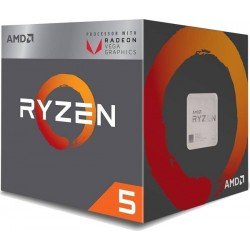 AMD Ryzen 5 2400G Quad-Core 3.6 GHz 6MB VEGA 11 SktAM4
