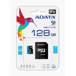 ADATA microSDHC 128GB UHS-I CLASS10 c/ Adaptador