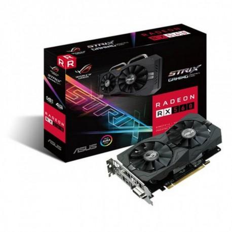 ASUS ROG-STRIX-RX560-4G-GAMING - Radeon RX 560 4GB GDDR5
