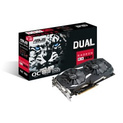 ASUS DUAL-RX580-O8G - Radeon RX 580 OC 8GB GDDR5