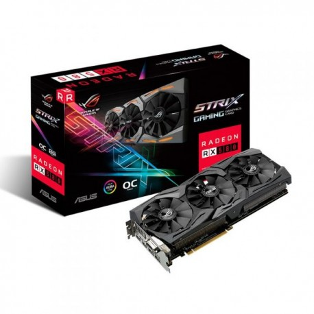 ASUS ROG-STRIX-RX580-O8G-GAMING - Radeon RX 580 OC 8GB GDDR5