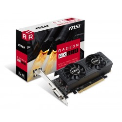 MSI RX550-2GTLP-OC - Radeon RX 550 2G GDDR5